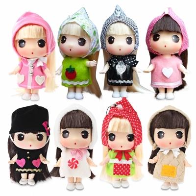 韩国正版迷糊娃娃DDUNG芭比娃娃女孩玩具迷你公主儿童仿真洋娃娃