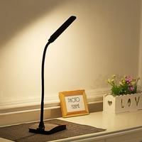 可夹充电式led台灯护眼学习床头看书夜读灯迷你办公简易充插两用