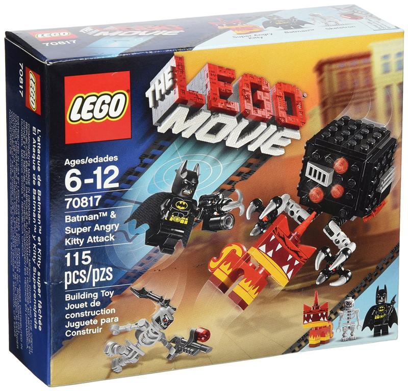 新品现货包邮 LEGO乐高 大电影系列70817 蝙蝠侠和超级愤怒猫攻击