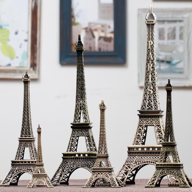 埃菲尔铁塔模型桌面装饰品