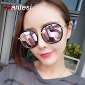2017新款韩国个性偏光太阳镜明星同款gm墨镜女士潮圆脸男近视眼镜