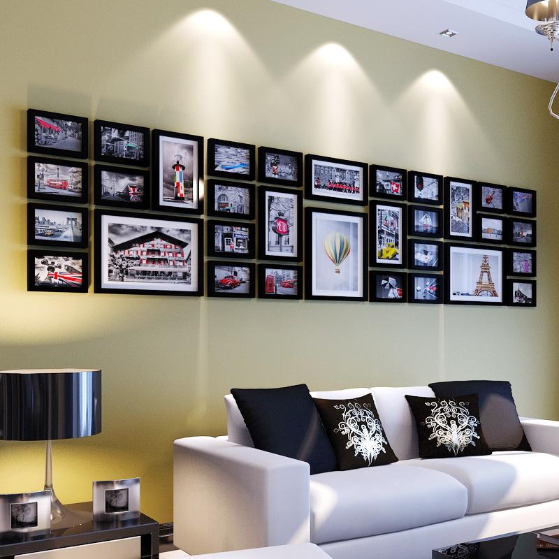 创意照片墙 大尺寸墙面