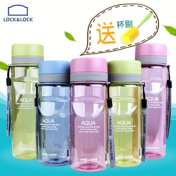 乐扣乐扣水杯 塑料水杯随手杯韩国创意防漏便携运动水壶最新注册白菜全讯网杯子