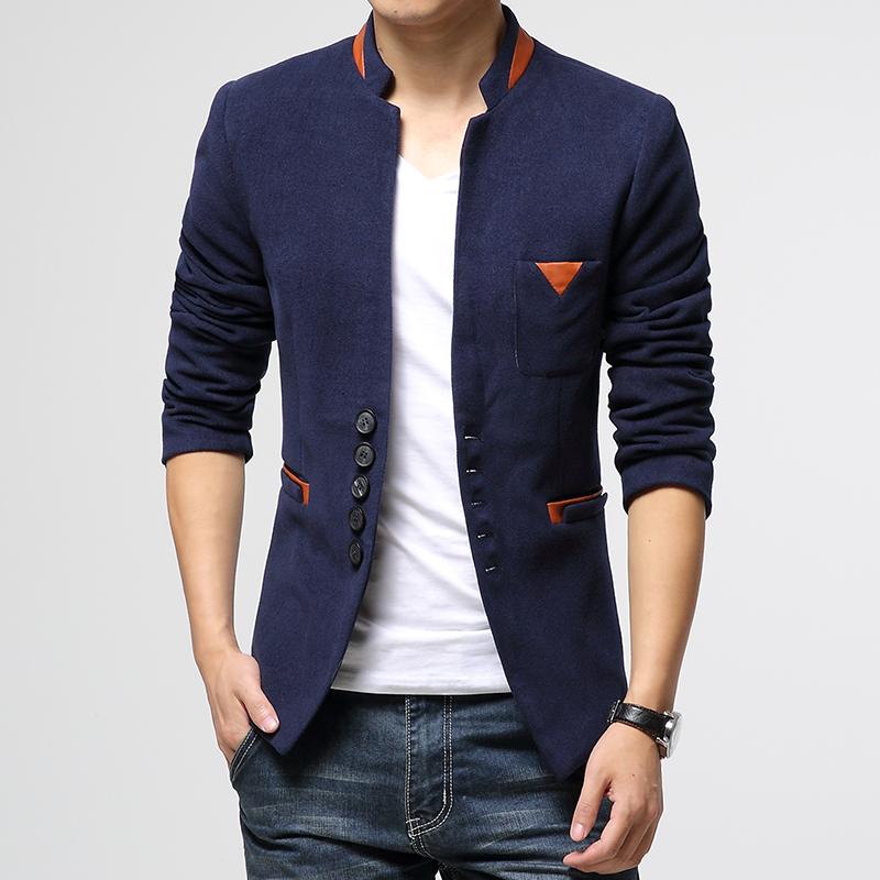 秋季男外套韩版男士小西装青年休闲西服男单西修身款青年大码上衣
