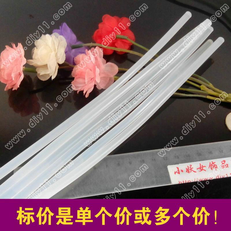 i10优质长热熔胶条7X260热熔胶棒 热融 常用胶类粘胶材料 50根价