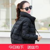 棉衣女短款面包服2016冬装新款韩版加厚羽绒棉服立领小棉袄外套潮