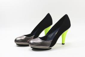 时尚舒适女鞋牛皮真皮金属银色优雅高跟鞋UN单鞋