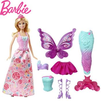 芭比娃娃女孩过家家生日玩具礼物