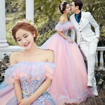 新款婚纱礼服影楼主题服装情侣写