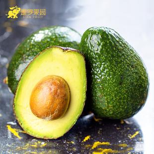 【暹罗果园】墨西哥牛油果 进口牛油果 新鲜水果6个装送2个柠檬