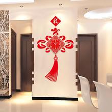 中国风创意客厅挂钟大号 中式时尚现代时钟 卧室静音石英钟表挂表