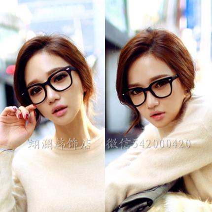 韩国代购配饰个性复古装饰眼镜框非主流潮近视时尚减龄凹造型神器