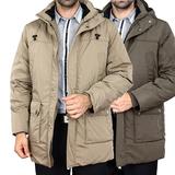 大码羽绒服冬加厚保暖中老年外套男士中长款清仓活里活面男装