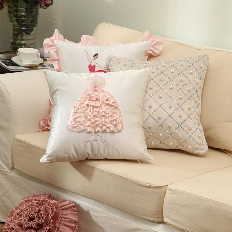 手工半圆沙发罩制作图解