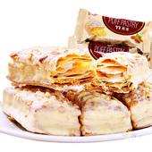 【天猫超市】台湾进口零食77松塔千层酥饼干曲奇蜜兰诺12粒