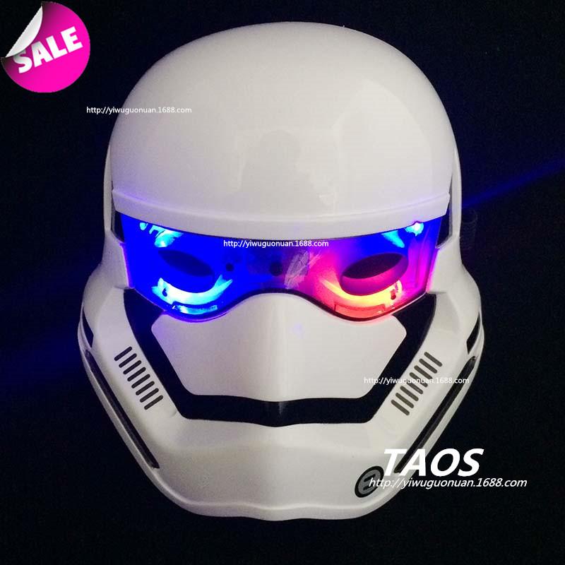 星球大战面具头盔光剑玩具黑武士克隆士白兵儿童成人cosplay面具