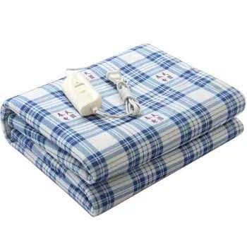 格调130*150cm家纺全线路多功能调温型 春天电热毯双人120cm及以