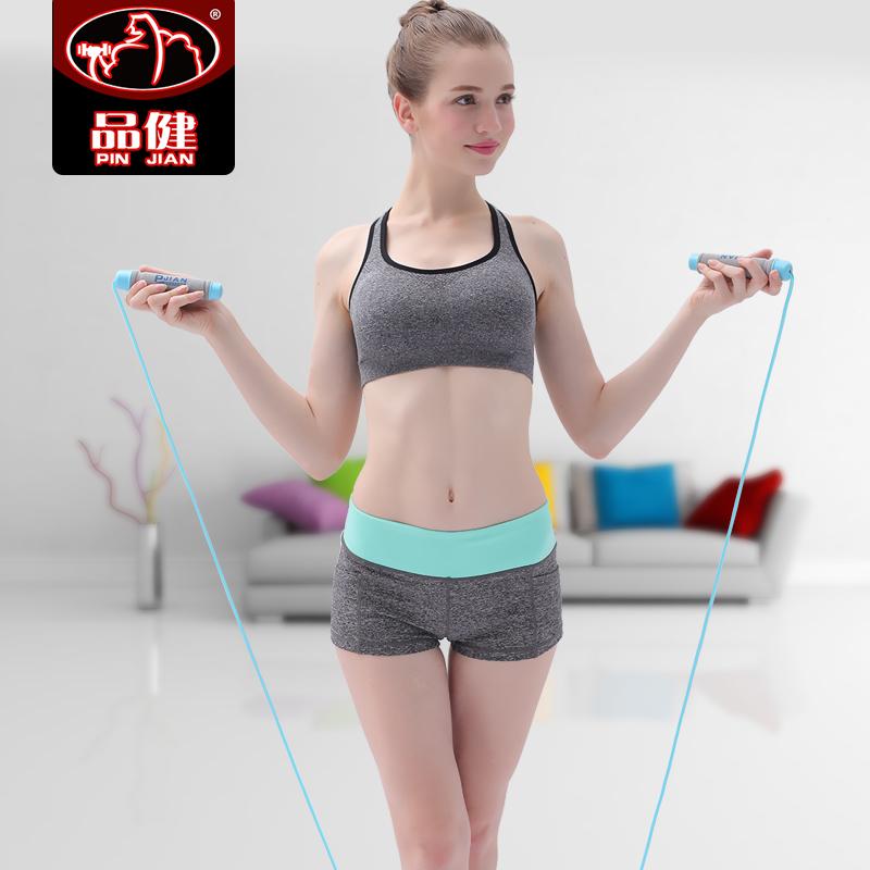 品健中考跳绳学生比赛钢丝绳成人儿童跳绳 健身减肥 负重绳子包邮