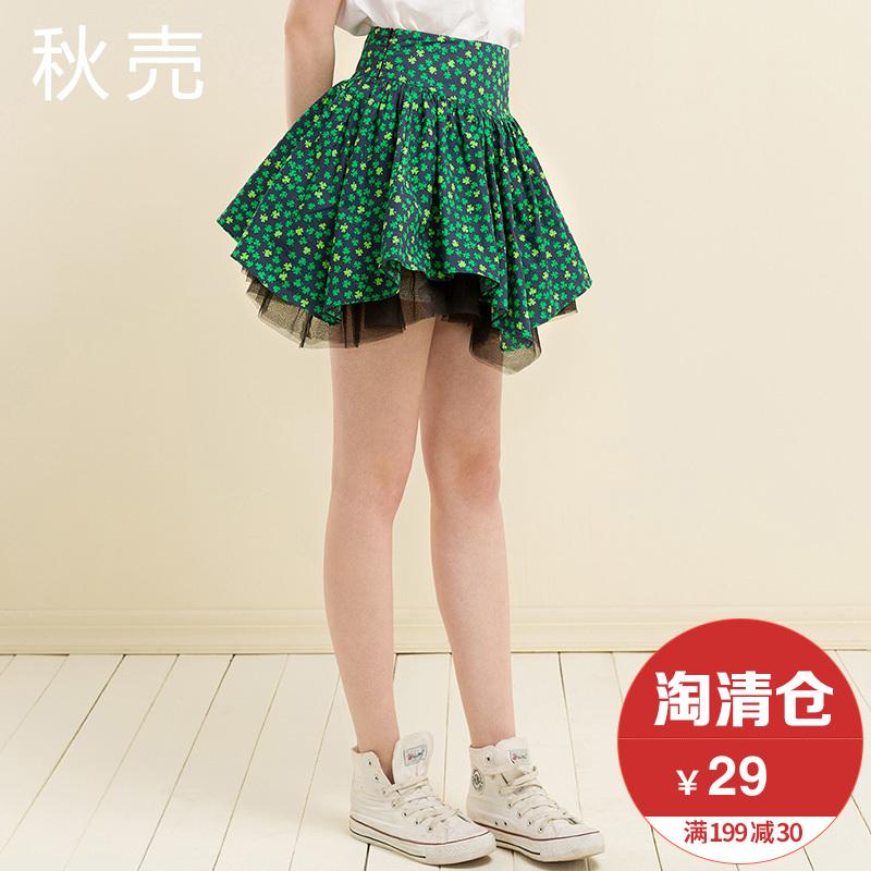 秋壳蓬蓬裙半身短裙