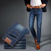 男士春季款裤子男士韩版修身nzk 男装时尚百搭牛仔裤子