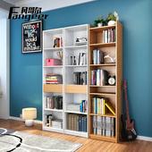 书房大型自由组合书柜创意家具 现代简约烤漆书桌抽屉式书橱书架