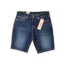 Levis/李维斯短裤 男装裤男夏款 宽松直筒牛仔裤男黑色牛仔裤图片