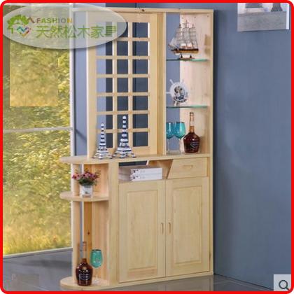 广州/东莞实木家具 松木间厅柜 玄关柜 装饰柜 隔断柜 实木酒柜
