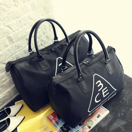 韩国东大门百搭3CE旅行包防水健身包行李袋女大容量手提包行李包