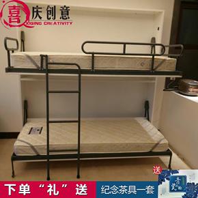 创意隐形床多功能双层上下床折叠壁床单人午休学生床0.9米定制