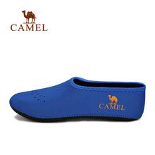 【断码清仓】CAMEL骆驼户外男女沙滩鞋赤足贴服软鞋 健身瑜伽鞋