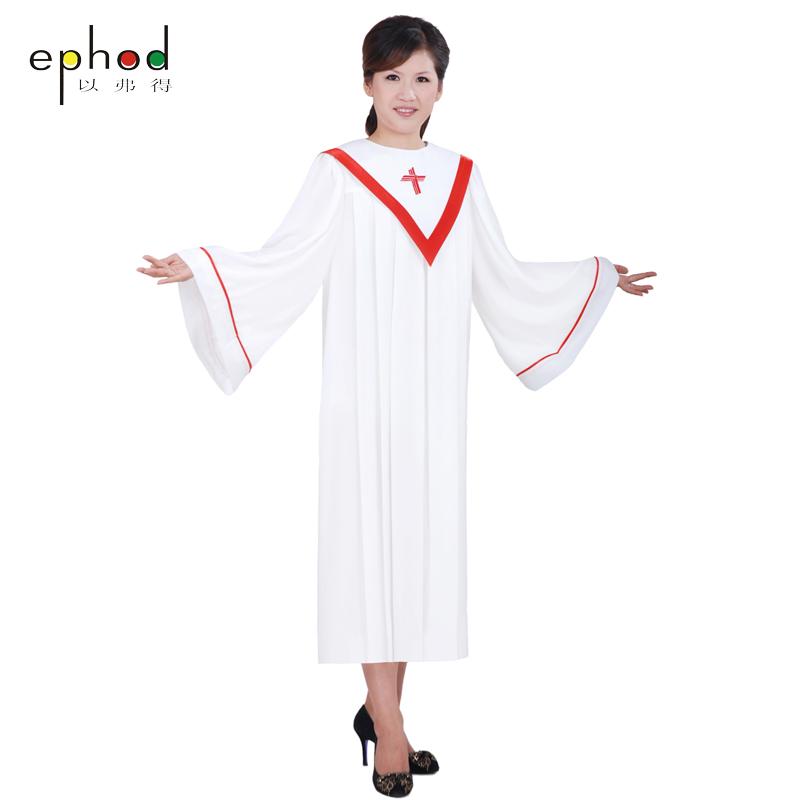 以弗得教会基督教服装唱诗服圣袍圣衣圣诗服诗班服诗袍圣服