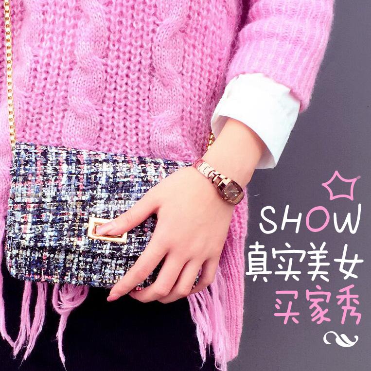 学生韩版简约潮流玫瑰金超薄石英表2017钨钢女士手表防水时尚款女