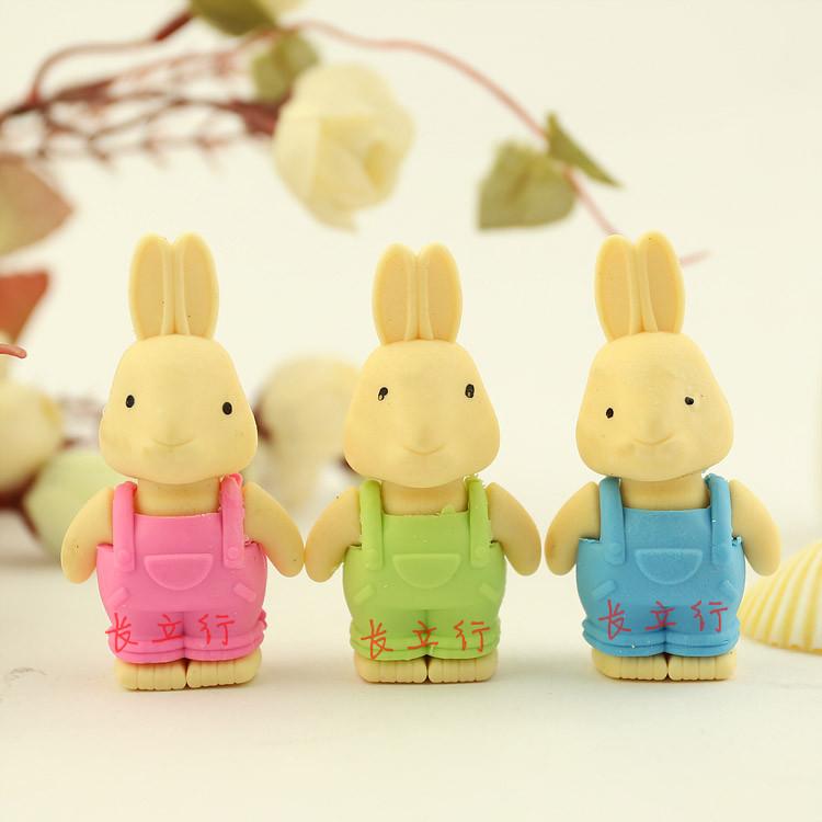 小学生学习用品 小兔子橡皮