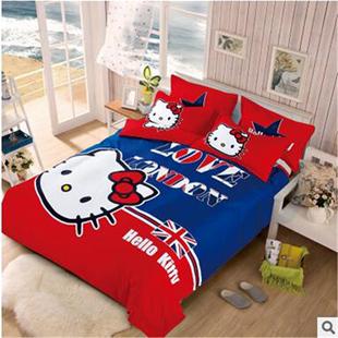 床品四件套1.2米学生三件套全棉家纺儿童房卡通男孩女孩床单被套