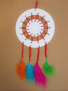星辰益智玩具3-7幼儿园风铃v星辰儿童白模画画上色涂色材料吊挂饰大丰手工玩具厂图片