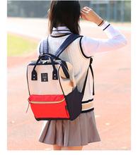 书包女中学生女韩版校园百搭时尚个性2017新款电脑包双肩背包女潮