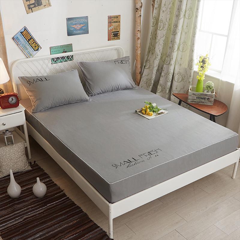 護套棕墊保防滑笠床套席夢思床床罩純色