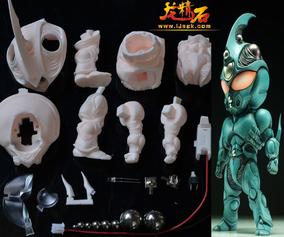 龙精石GK手办TO ng SD 凯普1号 Guyver1 强殖装甲 白模 预订