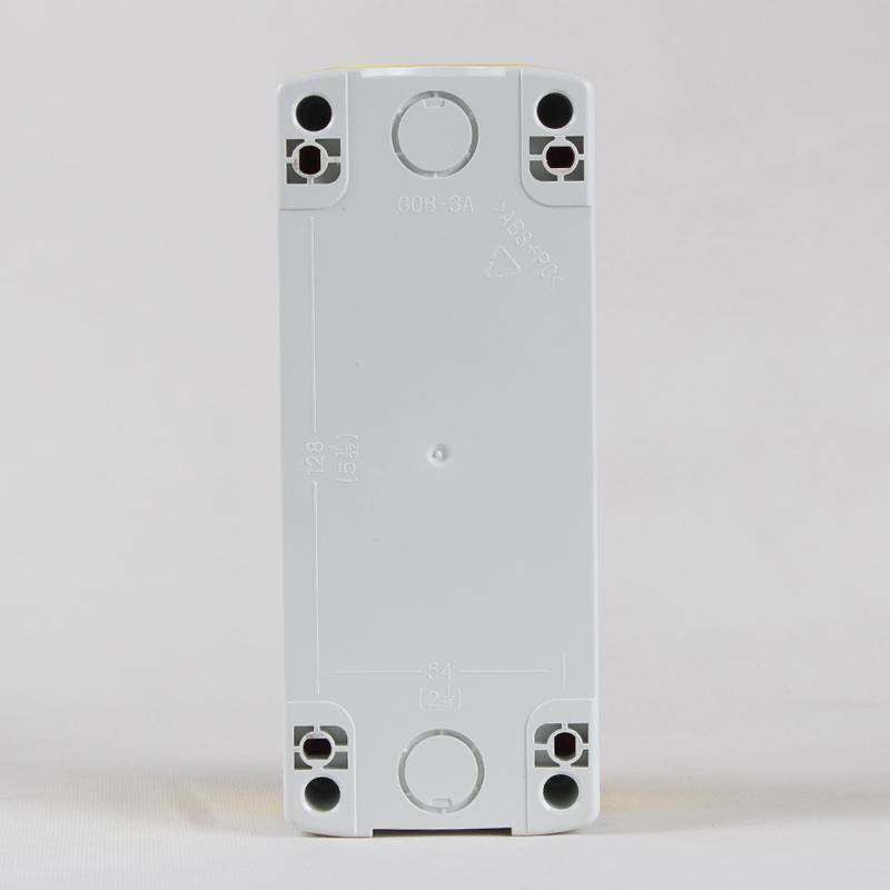 22mm按钮盒 三位/三孔防尘防水 接线盒 防溅盒 电源按钮开关盒
