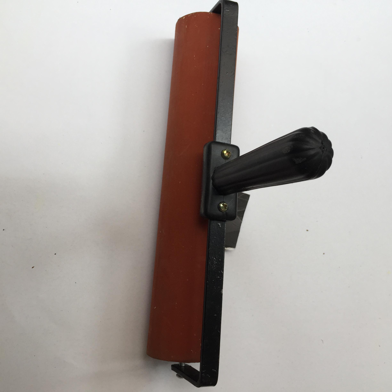 包邮油印机胶滚手推版画滚筒刷胶辊胶棍上墨无松香皂引气剂图片