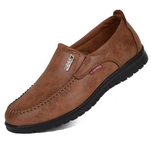 天天特价老北京布鞋男款春秋单鞋透气中老年爸爸休闲鞋加绒二棉鞋