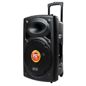 先科SD-15 户外音响大功率15寸 拉杆充电移动 便携蓝牙广场舞音响
