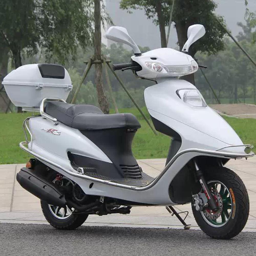 新款可上牌本田honda五羊公主踏板车摩托车助力车125代步街车跑车图片
