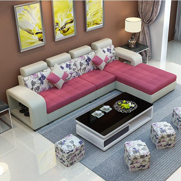 淘宝-布艺沙发小户型客厅家具现代简约时尚布沙发