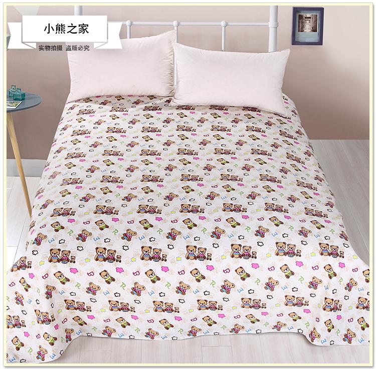 床单加厚双人粗布 粗布被单加厚 凉席帆布夏季