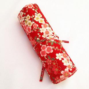 化妆刷刷包 迷你便携5支套刷 专用化妆刷收纳包 精致 美妆工具包