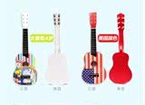 礼白雪公主木质木质儿童吉他玩具可弹奏迷你版其他儿童吉他女学生