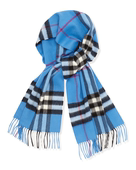 正品现货BURBERRY博柏利纯通用羊绒围巾经典格纹39313121美国代购