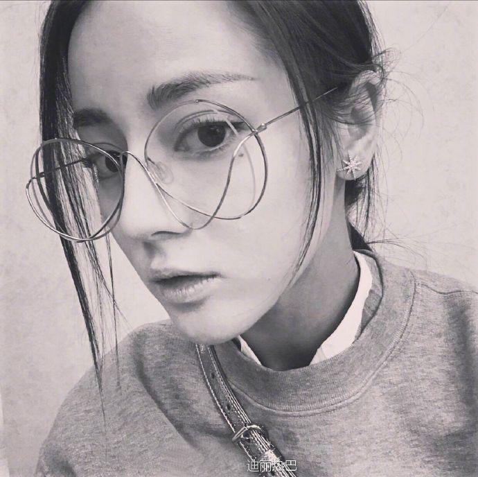 个性镂空迪丽热巴同款2017配近视眼镜框架女