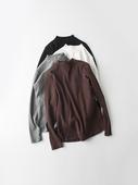 秋冬磨毛棉 实用百搭半高领弹力修身显瘦纯色长袖T恤衫打底衫女